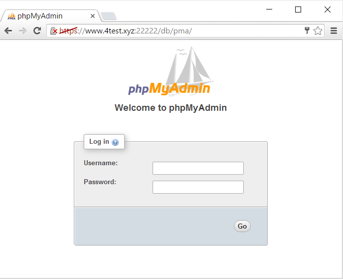 Step8.2.1 PhpMyAdmin Screen