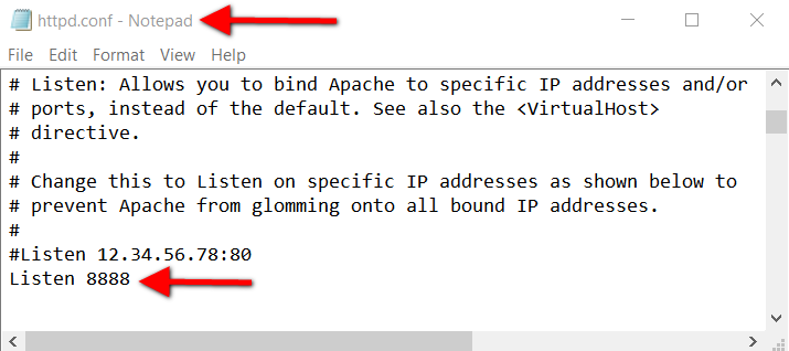 Step3.2 XAMPP Apache httpd.Conf